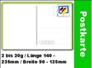 PIN-Die Einfache-Postkarte -67x5-001