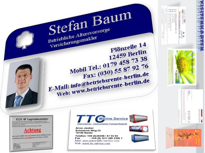Visitenkarten Erstellen Und Drucken