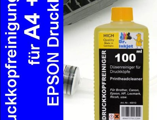 IRP401 – Dr. Inkjet Druckkopfreinigungskit für Epson Kleinformatdrucker A4 & A3 – Version 2.00