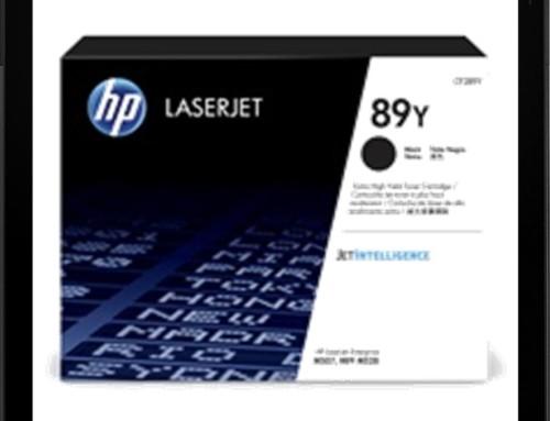 CF289Y – schwarz – HP Lasertoner mit ca. 20.000 Seiten Druckleistung nach ISO