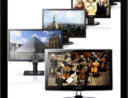 Monitore von Acer, BenQ, HANNS G., HANNspree, HP, IIyama, Lenovo, LG, Samsung u.v.m. – alle sind bei uns zu finden…