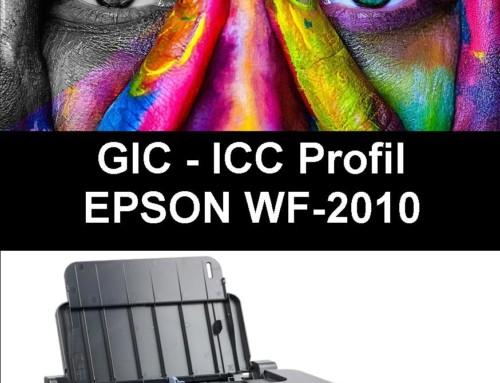 WF 2010 – ICC Profil für GIC Sublimationstinte Installations CD