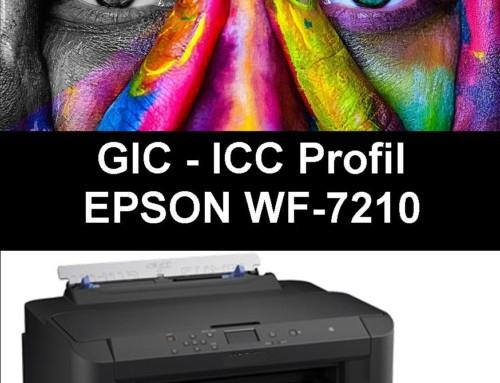 WF 7110 / WF7210 – ICC Profil für GIC Sublimationstinte Installations CD
