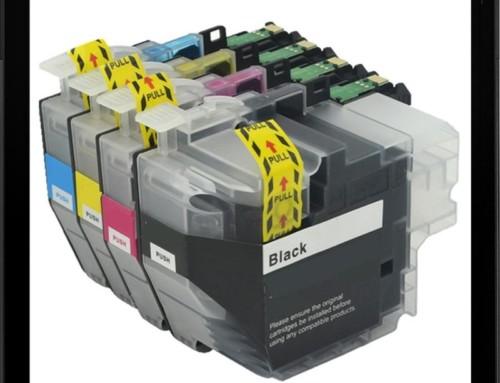 LC3219XL – GIC Sublimationspatronenmultipack – mit je 1x B/C/M/Y im XL Format